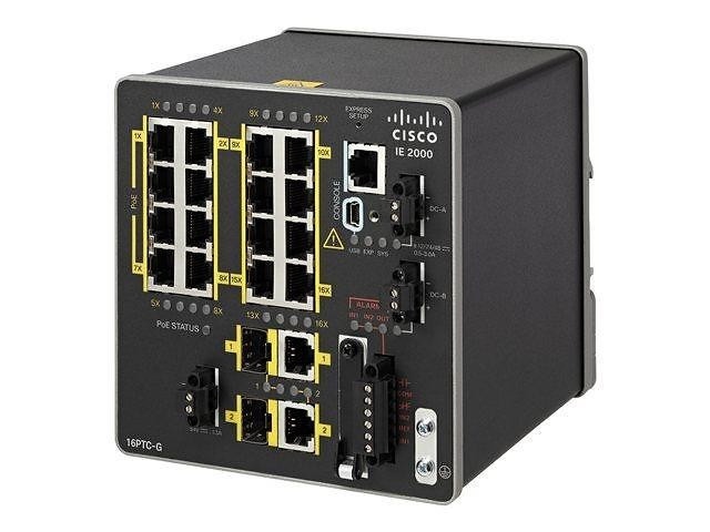 Коммутатор Cisco IE-2000-16PTC-G-L